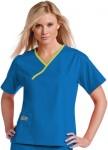 Pijama Sanitario Mujer Azul Linea Verde