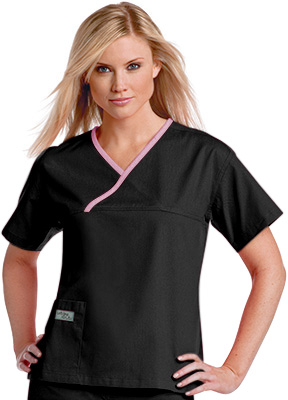 Pijama sanitario pijama sanitario mujer negro linea morada for Sanitarios negros