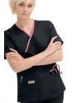 Pijama-Sanitario-Mujer-Negro-Linea-Rosa-2