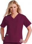 Pijama Sanitario Mujer Rojo Burdeos