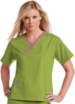 Pijama Sanitario Mujer Verde Linea Morada