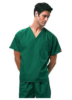 pijama sanitario verde hombre